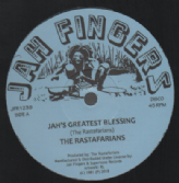 The Rastafarians - Jah's Greatest Blessing / Shaka Man - New Clear Bomb (Jah Fingers) 12""